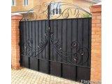 Фото 1 Ворота кованые с калиткой 332647