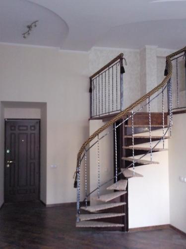 Металлические лестницы, кованные лестницы