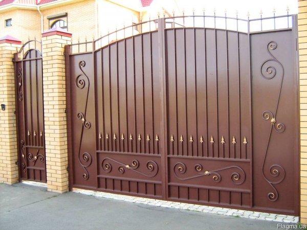 Фото 3 Изготовим ворота,распашные,въездные 332667