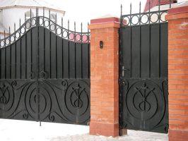 Металлические ворота