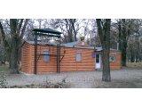 Фото  1 Металлический Блок -Хаус Бревно тип 1  цвет - Золотой дуб 2162851