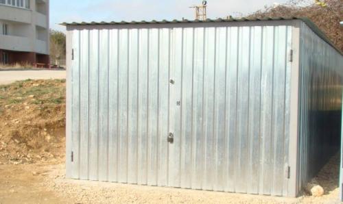 """Металлический гараж """"Бюджетный"""" ;. Размер 3,00х5,00х2,00. Доставка, установка, рассрочка до 12 месяцев."""