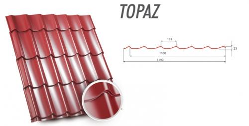 Металллорчерепица Topaz Zartmet.0,5мм