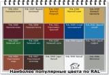 Металлочерепица 0,45мм - 1180мм/1100мм L от 0,6м до 8м Корея - на основе алюмоцинка