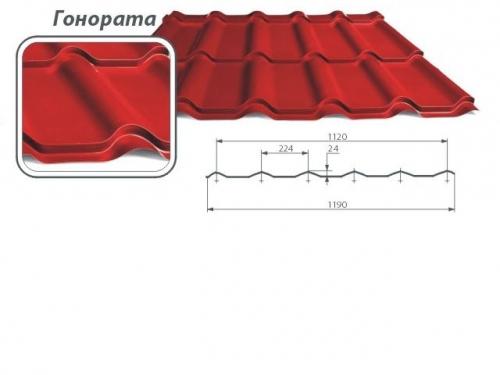 Металлочерепица Gonorata