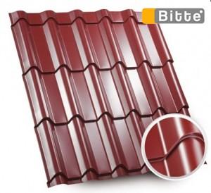 Металлочерепица Модерн mat 0.45 U. S. Steel (slovenia) от Битте
