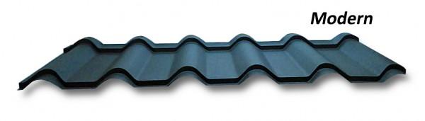 Металлочерепица Модерн mat 0.5 Arcelor (germany) от Битте