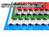Фото  7 Профнастил для Ворот кровли и заборов а так же фасадов. металлочерепица Днепропетровск ул. Титова, 7... 7447937
