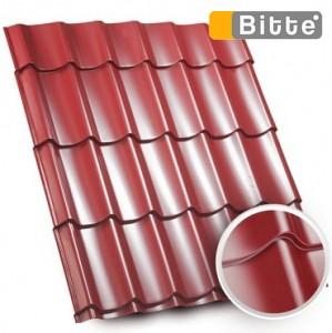 Металлочерепица Ретро poliester U. S. Steel 0.45 от Битте