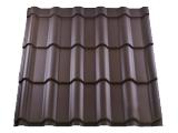 Металлочерепица RETRO (сталь-0,45 мм, цинк-200 г/м. кв, матовое покрытие-35 мкм)