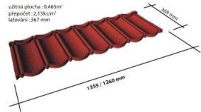 Металлочерепица с каменной посыпкой Evertile (Чехия)