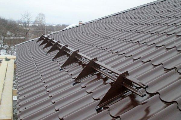 Фото  1 Металлочерепица Монтеррей, Германия ArcelorMittal 0.5 мм., матовая, от произвоидителя 1216747