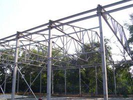 Металлоконструкции строительные - изготовление под заказ. Цена - за изготовление 1т. металла