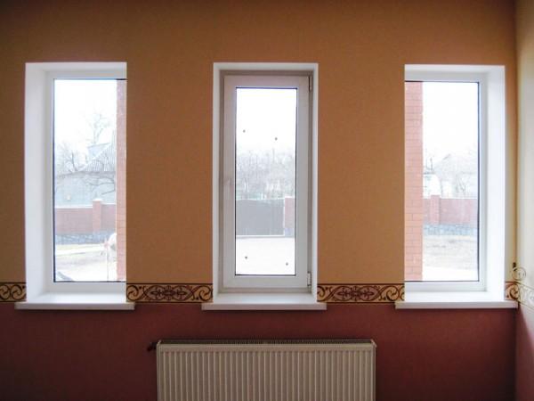 Металлопластиковые окна с профиля VEKA