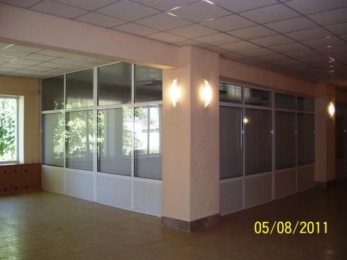 Металлопластиковые перегородки, офисные перегородки(дизайн, изготовление и установка)