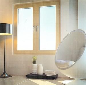 Металлопластиковое окно 1300х1400 мм (двухстворчатое)