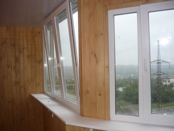 Металлопластиковое окно, профиль Alfapolimer, фурнитура Worne(германия) под заказ