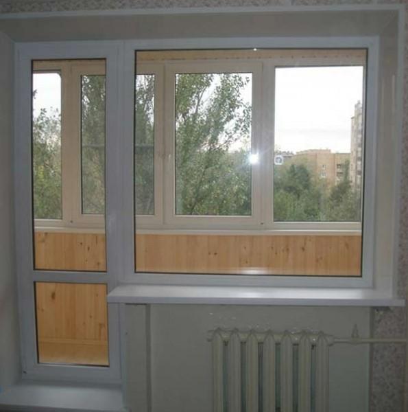 Металопластикові вікна та балконні двері .