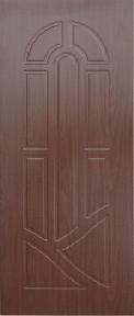 Межкомнатная дверь ПВХ ТМ Дубрава Аркадия ПГ (итальянский орех)