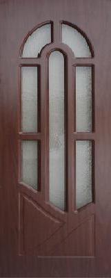 Межкомнатная дверь ПВХ ТМ Дубрава Аркадия ПО (итальянский орех)