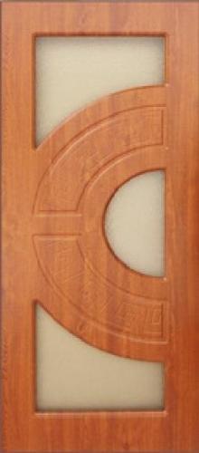 Межкомнатная дверь ПВХ ТМ Дубрава Греция ПО (золотой дуб)