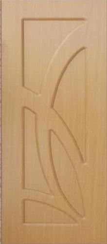 Межкомнатная дверь ПВХ ТМ Дубрава Лиана ПГ (миланский орех)