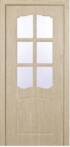 Межкомнатная дверь ПВХ ТМ Неман Классик ПО (карпатская ель)