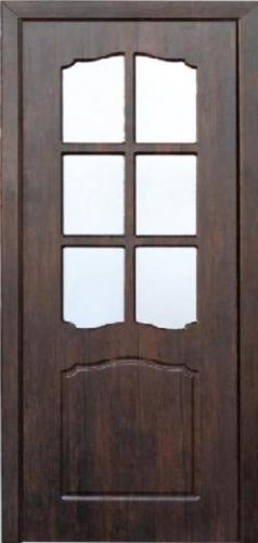 Межкомнатная дверь ПВХ ТМ Неман Классик ПО (тик)