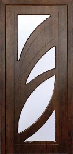 Межкомнатная дверь ПВХ ТМ Неман Пальмира ПО (тик)