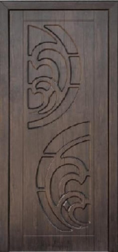 Межкомнатная дверь ПВХ ТМ Неман Прибой ПГ (тик)