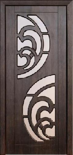 Межкомнатная дверь ПВХ ТМ Неман Прибой ПО (тик)