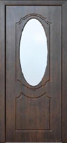 Межкомнатная дверь ПВХ ТМ Неман Зеркало ПО (тик)