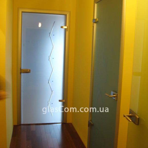 """Межкомнатная дверь """"Флора"""". Алюминиевая коробка со скрытым крепежом. Фурнитура - WSS или Atoll (на выбор)"""