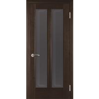 межкомнатные двери деревянные покрыты натуральнвм шпоном модель 17