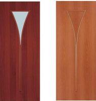 Межкомнатные двери, эконом класс, модель Факел,  покрытие: дверной блок МДФ ламинированный