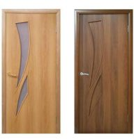 Межкомнатные двери, эконом класс, модель Лиана, покрытие: дверной блок МДФ ламинированный