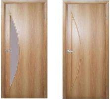 Межкомнатные двери, эконом класс, модель Парус, покрытие: дверной блок МДФ ламинированный