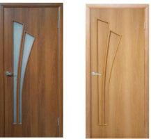 Межкомнатные двери,эконом класс, модельСалют, покрытие: дверной блок МДФ ламинированный