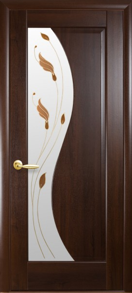 Межкомнатные двери Эскада. Цвет:венге, каштан, ясень, золотая ольха