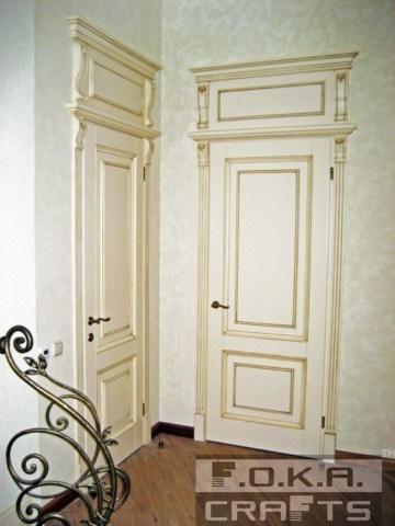 Межкомнатные двери из массива сосны, дуба, ольхи, ясеня!