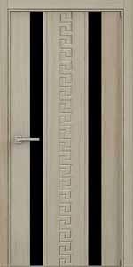 Межкомнатные двери из МДФ стекло-триплекс 2100*900*120 от производителя с коробом и наличниками на 2 стороны