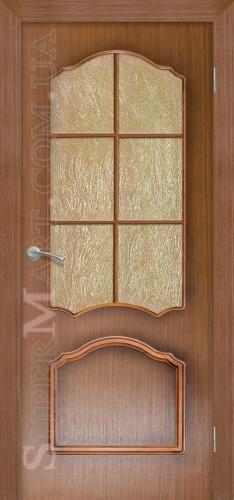 межкомнатные двери Каролина BelWoodDoors (Белвуддорс) орех
