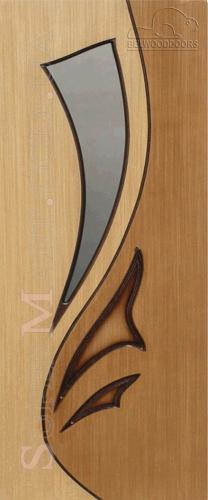 межкомнатные двери Лилия BelWoodDoors (Белвуддорс) дуб-орех