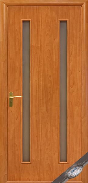 Межкомнатные двери МДФ, Новый Стиль, коллекция Квадра, Вера со стеклом