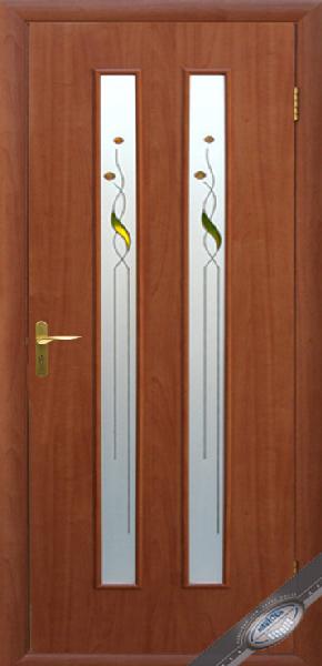 Межкомнатные двери МДФ, Новый Стиль, коллекция Квадра Р, Вера Р1 с рисунком