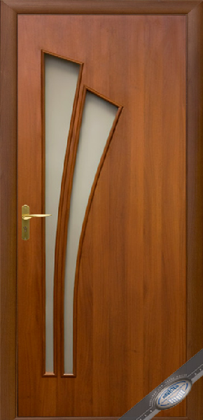 Межкомнатные двери МДФ, Новый Стиль, коллекция МОДЕРН , Лилия