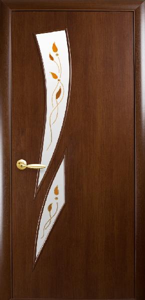 Межкомнатные двери МДФ, Новый Стиль, коллекция МОДЕРН Р, Камея Р1 с рисунком