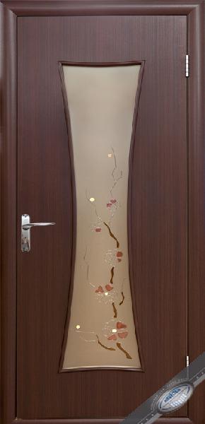 Межкомнатные двери МДФ, Новый Стиль, коллекция МОДЕРН Р, Часы Р1 с рисунком