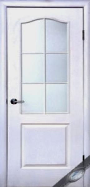Межкомнатные двери МДФ, Новый Стиль, коллекция Симпли, модель B со стеклом