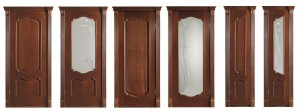 Межкомнатные двери, модель Италия, цвет: аvorio оro, черешня натуральная, прасное дерево, патина